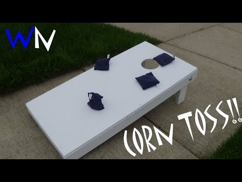 How to Build a Corn Toss Game!