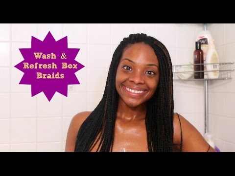How to Wash & Refresh Box Braids!