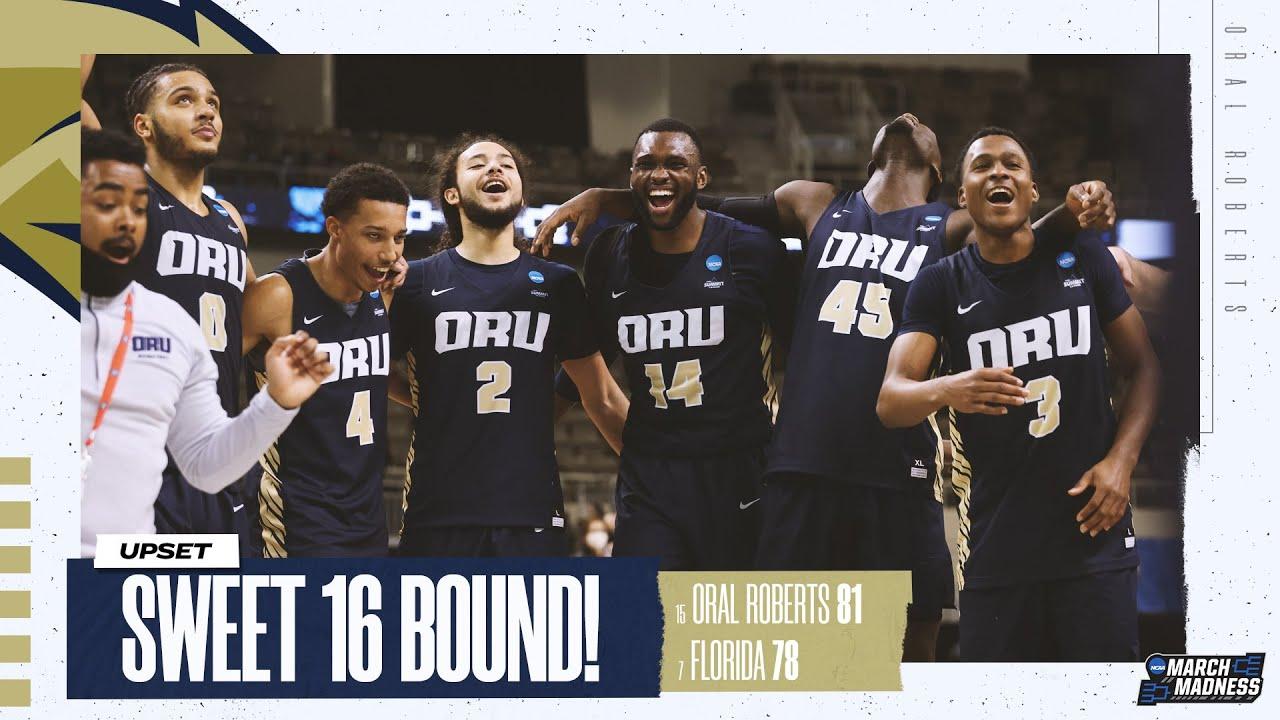 Second historic upset - Oral Roberts stuns Florida in NCAA tournament