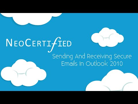 How To Send Secure Email In Outlook 2010