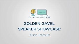 Toastmasters 2020 Convention: Golden Gavel Speaker Showcase