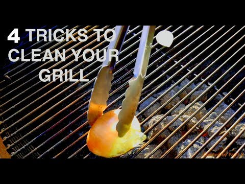 4 Tricks To Clean Your Grill Grates