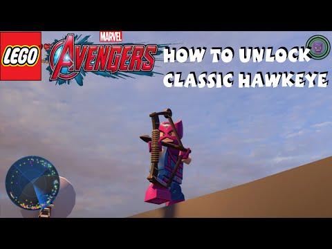 Lego Marvel Avengers - How to Unlock Classic Hawkeye