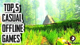 Top 5 Offline Casual Games | Best New Offline Games | Top 5 Games Series