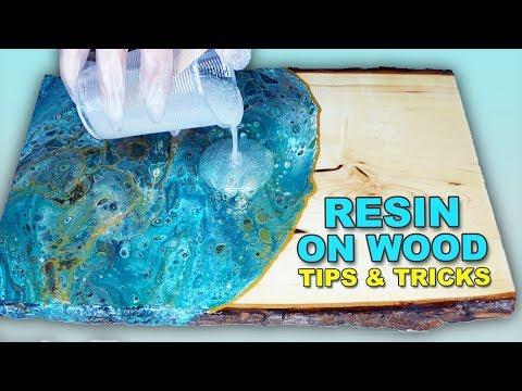 RESIN on WOOD Tips & Tricks