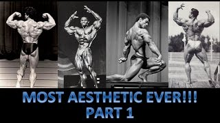 Top 20 Most Aesthetic Bodybuilders of All Time!!! (Part One: #20-11)