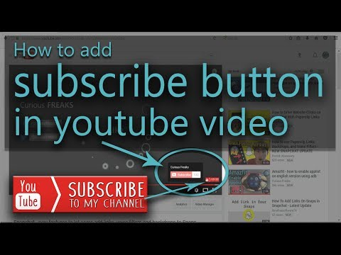 How to add custom subscribe button to all videos of youtube channel 2017  using branding watermark