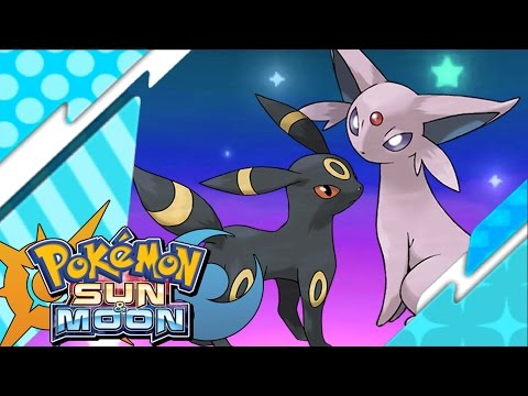 Pokémon Sun and Moon: Catching Espeon and Umbreon - S.O.S Catching