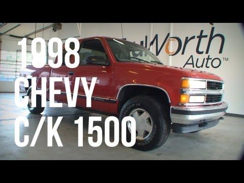 1998 Chevy CK 1500 - Clean CARFAX - CD Player - TruWorth Auto