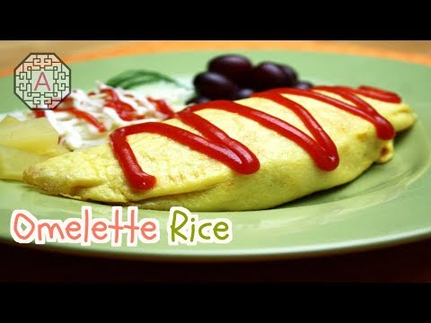 【Korean Drama Food】 Rooftop Prince Omurice (Omelette Rice, 오므라이스)