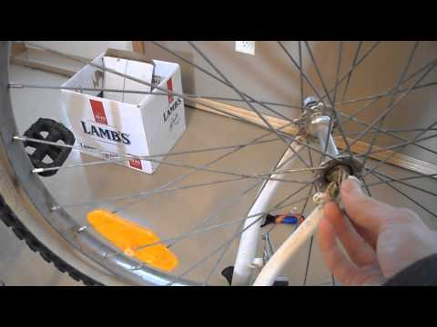 How to Do it yourself DIY electric bike bicycle conversion kit battery front wheel tire motor