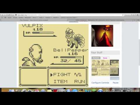 Pokemon Blue Minisode: Catching Vulpix