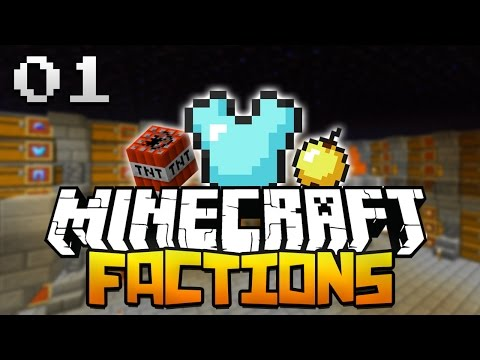 ✔ Minecraft Factions Server Lets Play: Episode 1 -