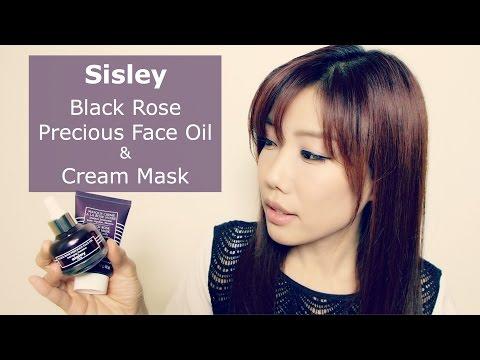 Sisley Black Rose Precious Face Oil & Cream Mask