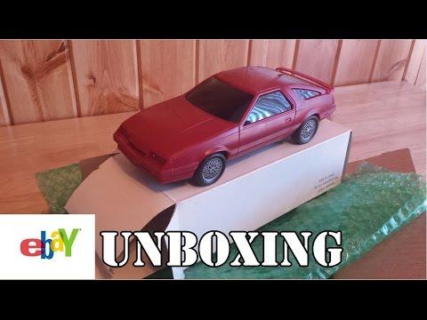 eBay Unboxing - 1984 Chrysler Laser XE Promo