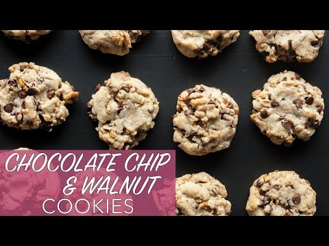 THE BEST VEGAN COOKIES EVER | Chocolate Chip & Walnut Cookies | The Edgy Veg