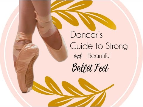 Ballet Foot exercises for strength and stretch.