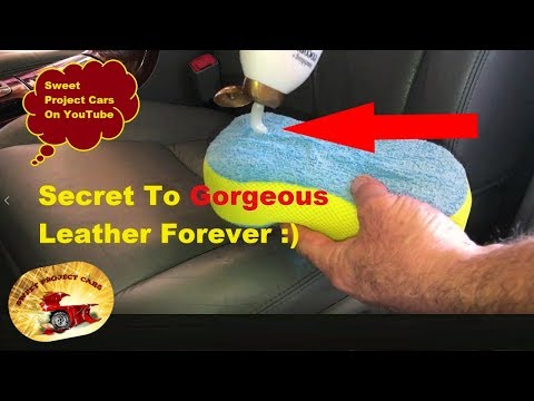 OUR SECRET!  Make Leather Last FOREVER!