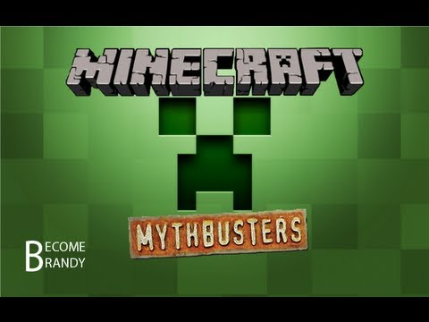 Minecraft MythBusters! Duplication / Void / Invincibility [Xbox]