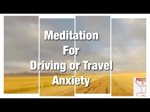 10 Minute Calming Guided Meditation For Driving or Traveling Anxiety