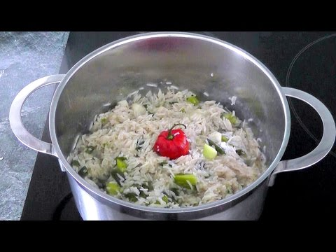 Jamaican RICE & PEAS How to cook recipe Perfect with Jerk Chicken