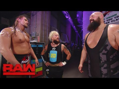 Big Cass confronts Big Show about the recent backstage attacks: Raw, June 5, 2017