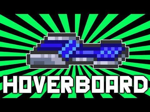 Terraria 1.2.1: Hoverboard (INFINITE FLYING | Crafting Guide) @demizegg