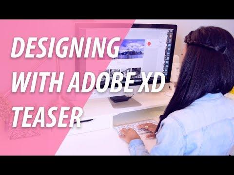 Designing With Adobe XD | Adobe XD + XO PIXEL