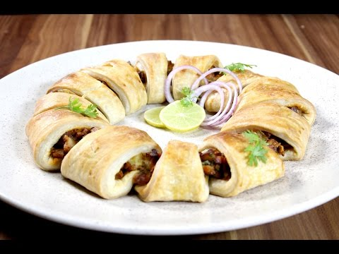 Tandoori Chicken Crescent Rings | Sanjeev Kapoor Khazana