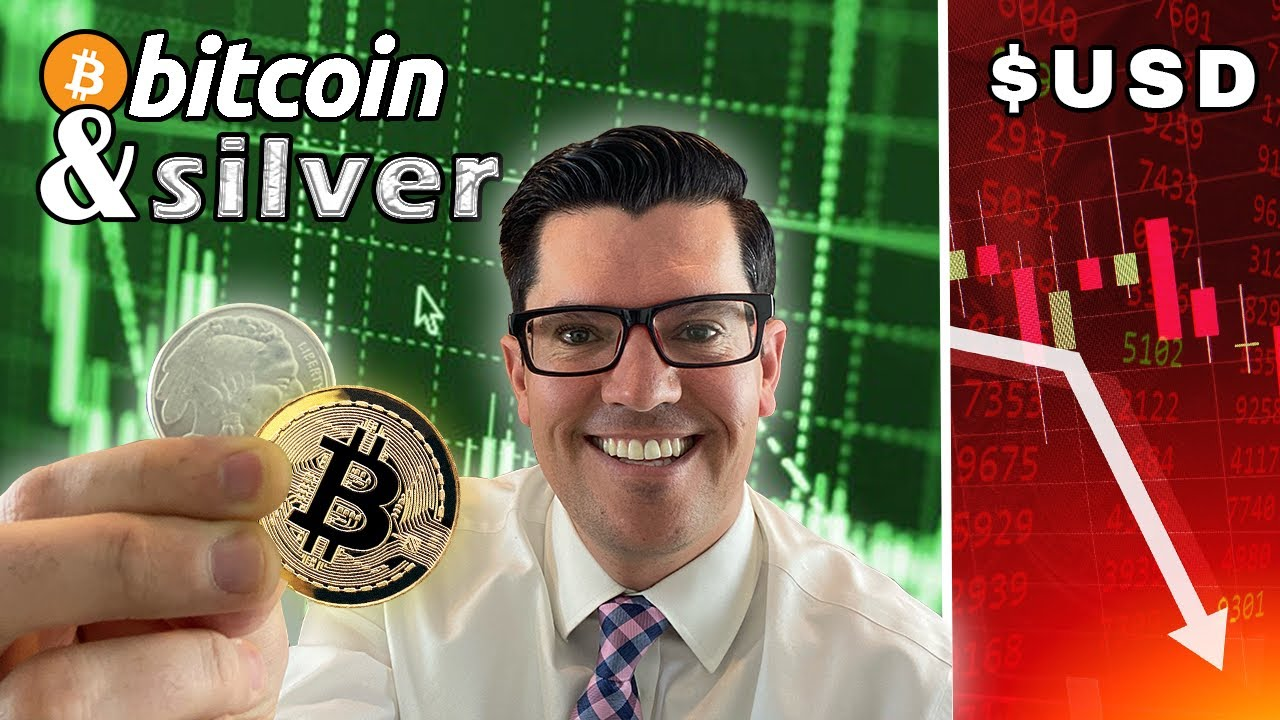 Will SILVER and BITCOIN Be The Top Money Protectors As The US Dollar Devalues ? Silver 2021