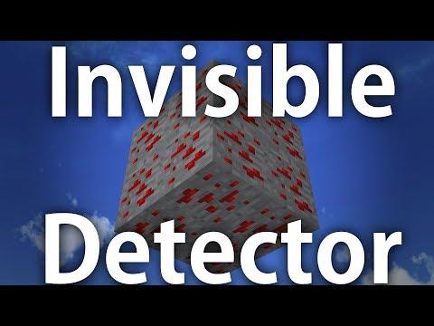 Minecraft | Invisible Redstone pressure plate!