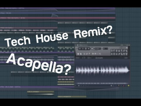 Fl Studio 12 | How to: Tech House REMIX with Acapella
