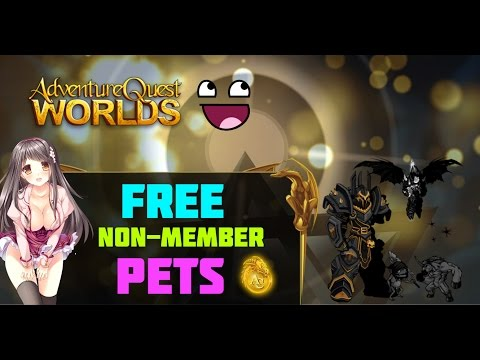 =AQW= How to get FREE Non-member PETS 2016 - EASY & FAST (Top 5)