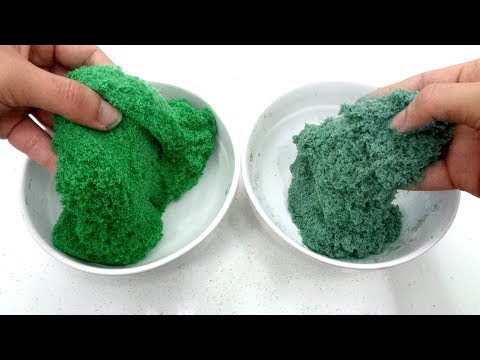 School Glue & Clear Glue I DIY Kinetic Sand Nice And Easy