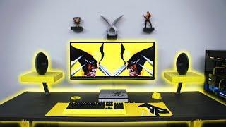 $7500 Ultimate Wolverine Desk Setup | Time Lapse