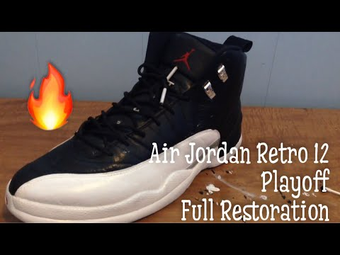 Retro 12 Playoff Restoration