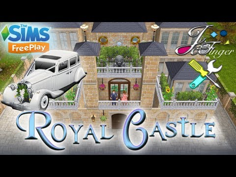 The Sims FreePlay 👑| ROYAL CASTLE |👑 [ LIVE BUILD ] By Joy.