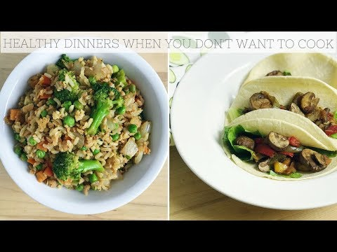 PLANT BASED DINNER RECIPES FOR LAZY NIGHTS | Simple, Easy Meals