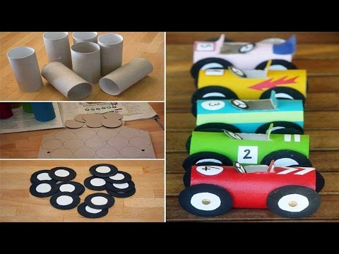 Toilet Paper Roll Crafts for Kids. full ᴴᴰ █▬█ █ ▀█▀