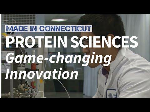 MADE IN CONNECTICUT // Protein Sciences in Meriden