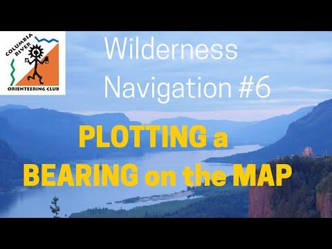 Wilderness Navigation #6 - Plotting a Bearing onto a Map