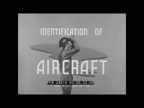 WWII AIRCRAFT IDENTIFICATION FILM   JUNKER JU-87 & JU-88  STUKA DIVE BOMBER  24614