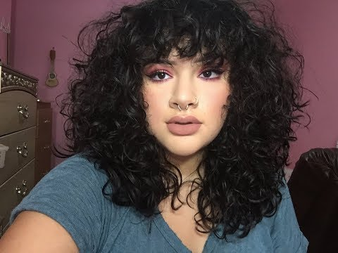 HOW TO CUT CURLY BANGS + Q & A