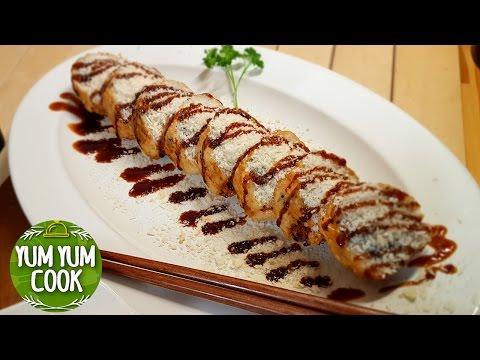 Deep Fried California Sushi Roll | How to Make Sushi Roll | YumYumCook