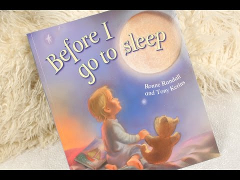 Bed time stories - Before I go to sleep - Read a book