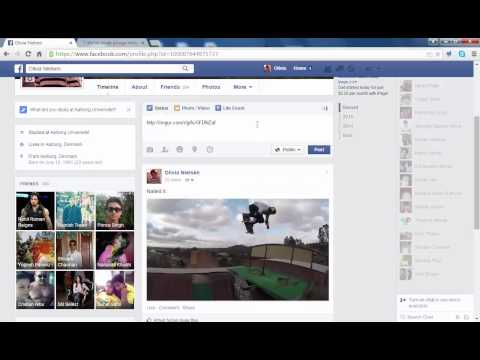 How to post animated Gifs on facebook 2015