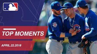 Top 10 Moments around MLB: April 22, 2018