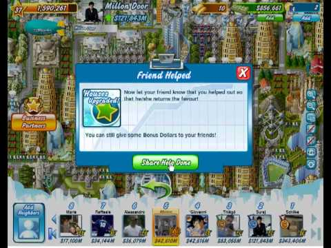 Millionaire City facebook - RICHEST people in game
