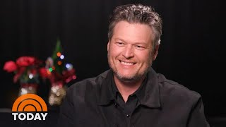 Blake Shelton Dishes On Hallmark Movie And Holiday Memories | TODAY