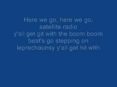 Boom boom pow black eyed peas (clean with lyrics)